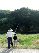 釣り 親子