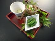 もずく酢・山菜・食前酒.JPG